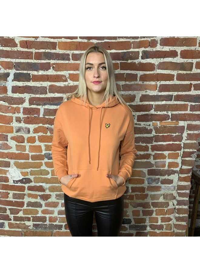 Hoodie femme dusk orange