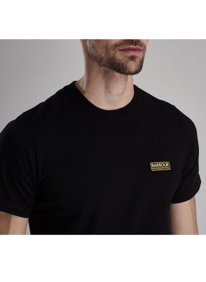 International small logo tee-black