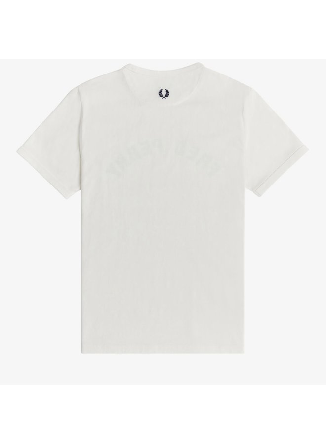 Arch branded t-shirt - snow white