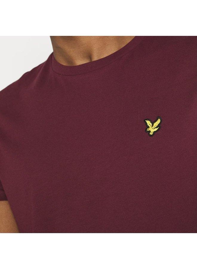 Plain t-shirt / merlot