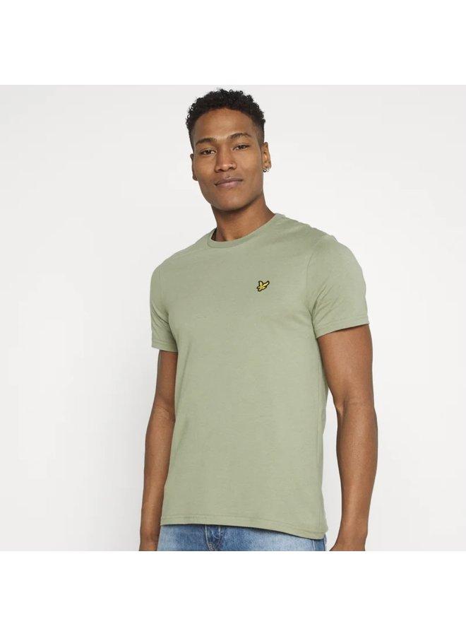Plain t-shirt / moss