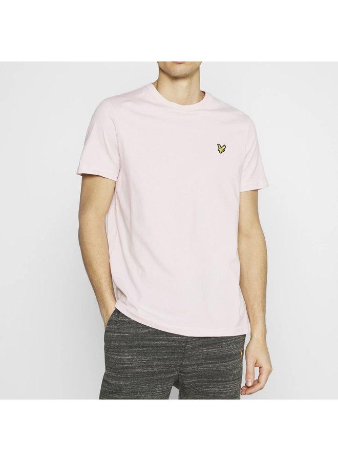 Plain t-shirt stonewash pink