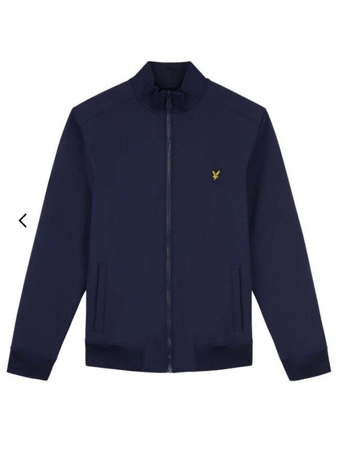 Funnel neck softshell jacket - dark navy