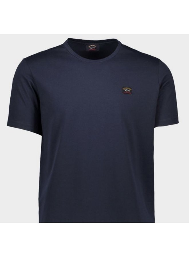 Organic cotton t-shirt - navy