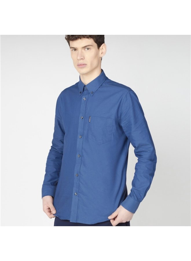 Signature oxford shirt - airforce