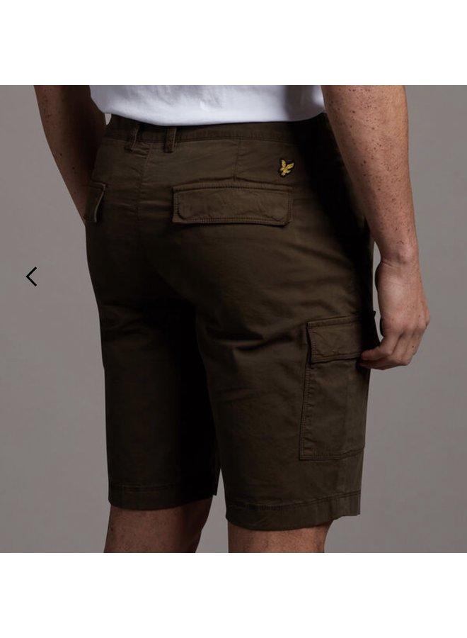 Cargo shorts - trek green