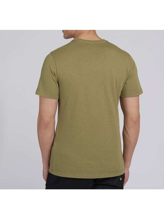 B.intl understeer tee - green military