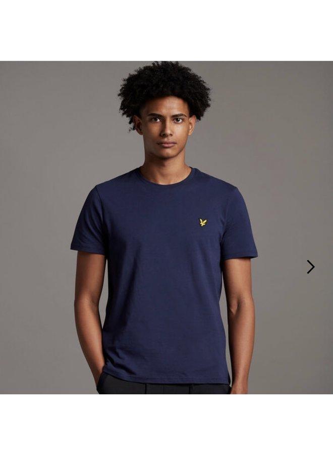 Crew neck t-shirt navy