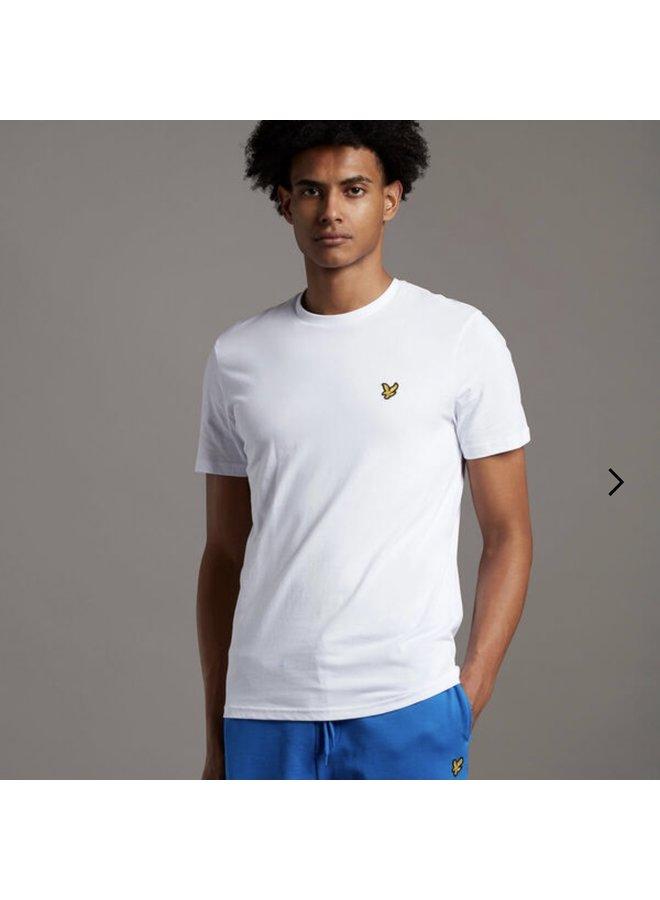 Crew neck t-shirt white