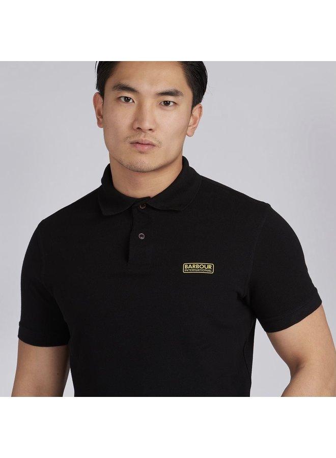 B.intl international essential polo - black