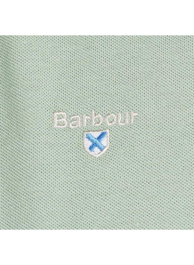 Barbour lynton polo - faded Apple