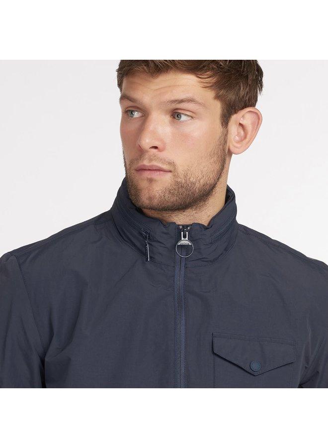 Barbour herron jacket - navy