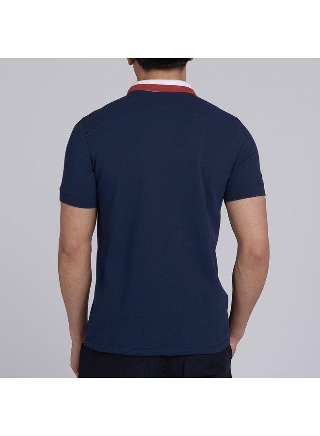 B.intl ampere polo - dress blue