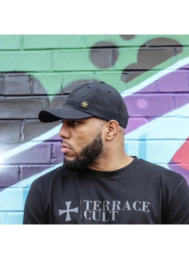 Terrace nylon cap - black