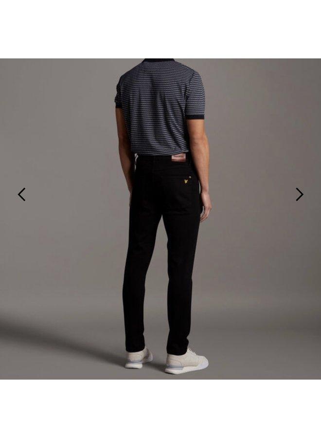 Slim fit jean - jet black