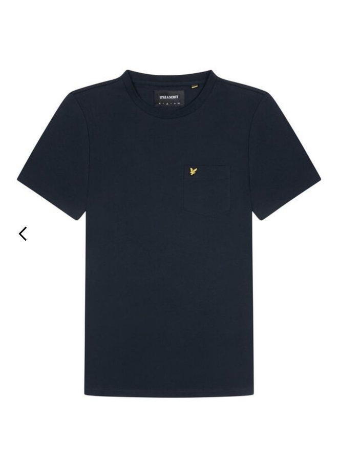 Relaxed pocket t-shirt - dark navy