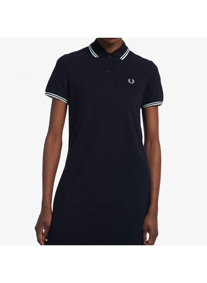 Twin tipped Fred Perry dress - black