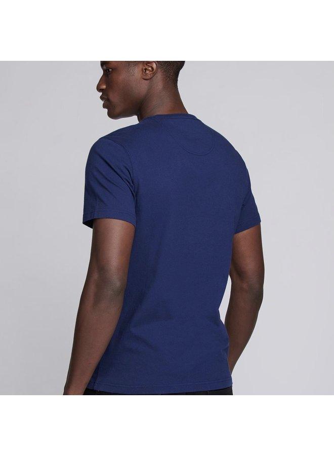 Essential large logo tee - regal blue