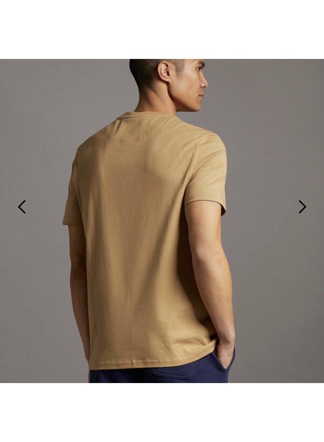 Plain t-shirt - tan
