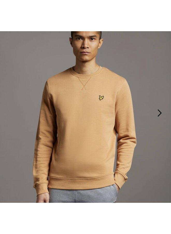 Crew neck sweatshirt - tan
