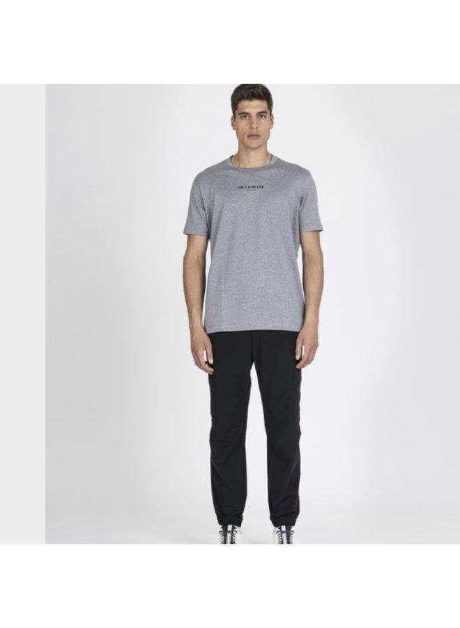 Organic cotton t-shirt with printed Paul & shark - grey
