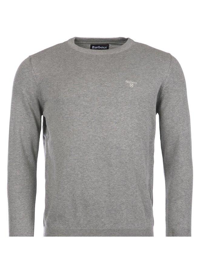 Cotton crew neck - grey