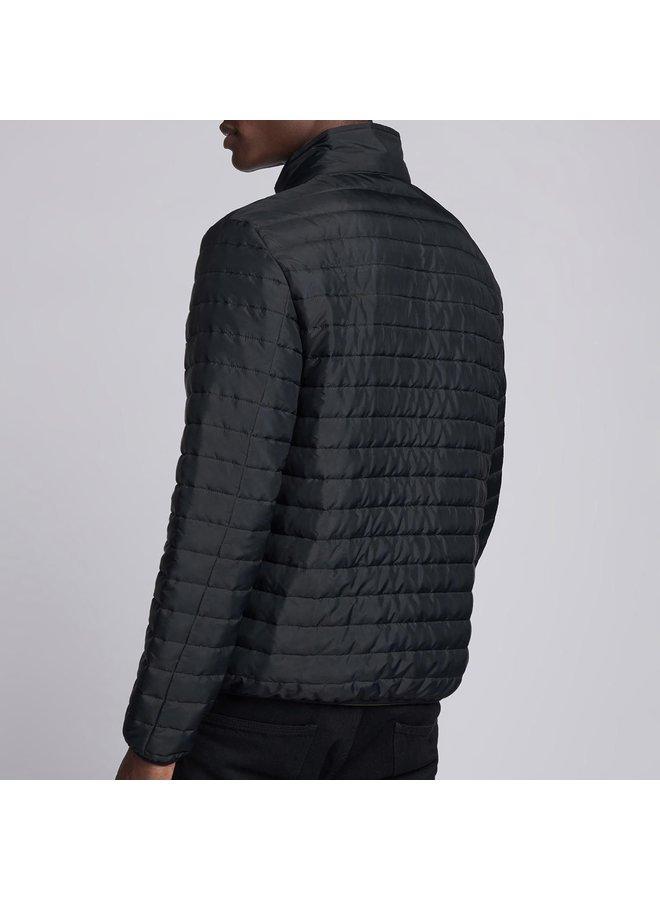 Quilted mind jacket - black