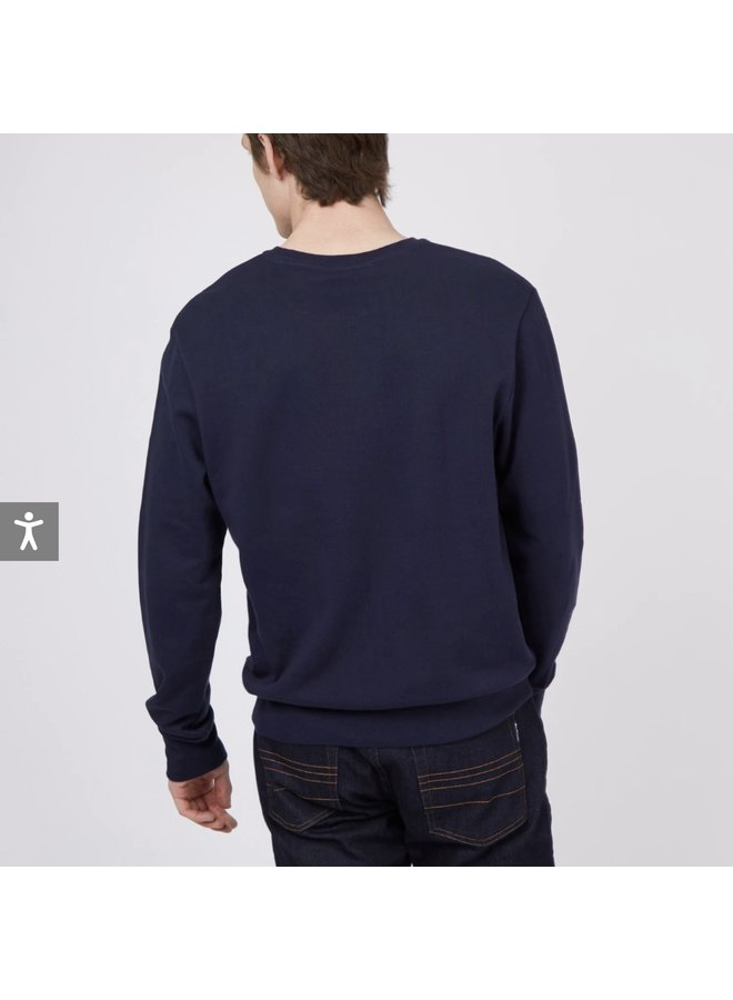 Loopback sweatshirt - marine