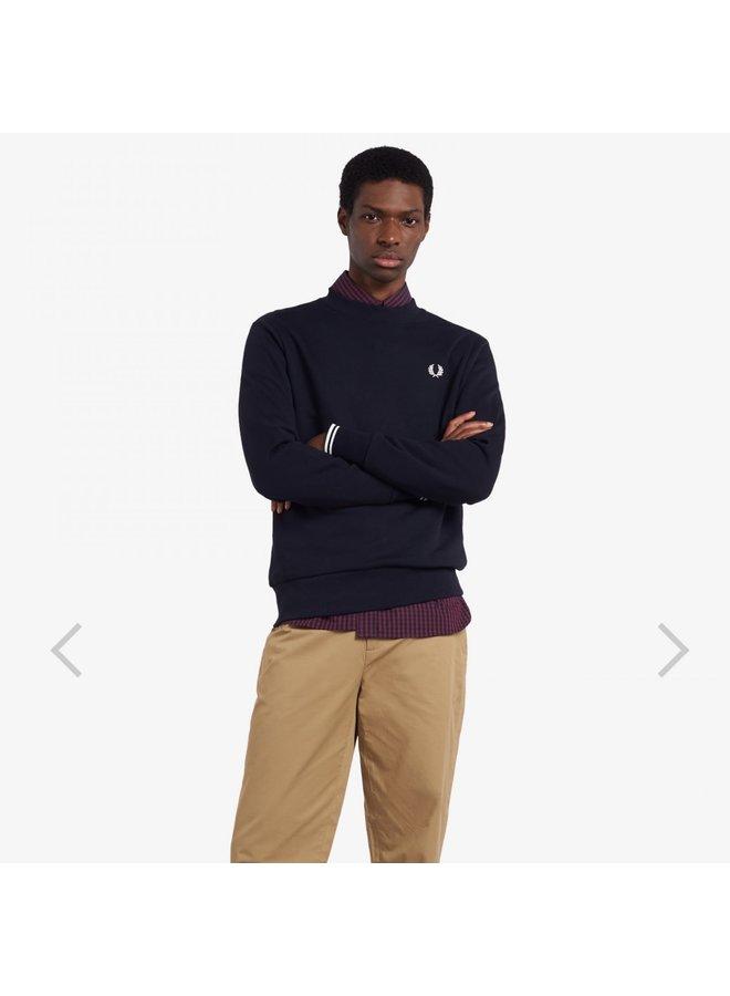 Crew neck sweatshirt - navy