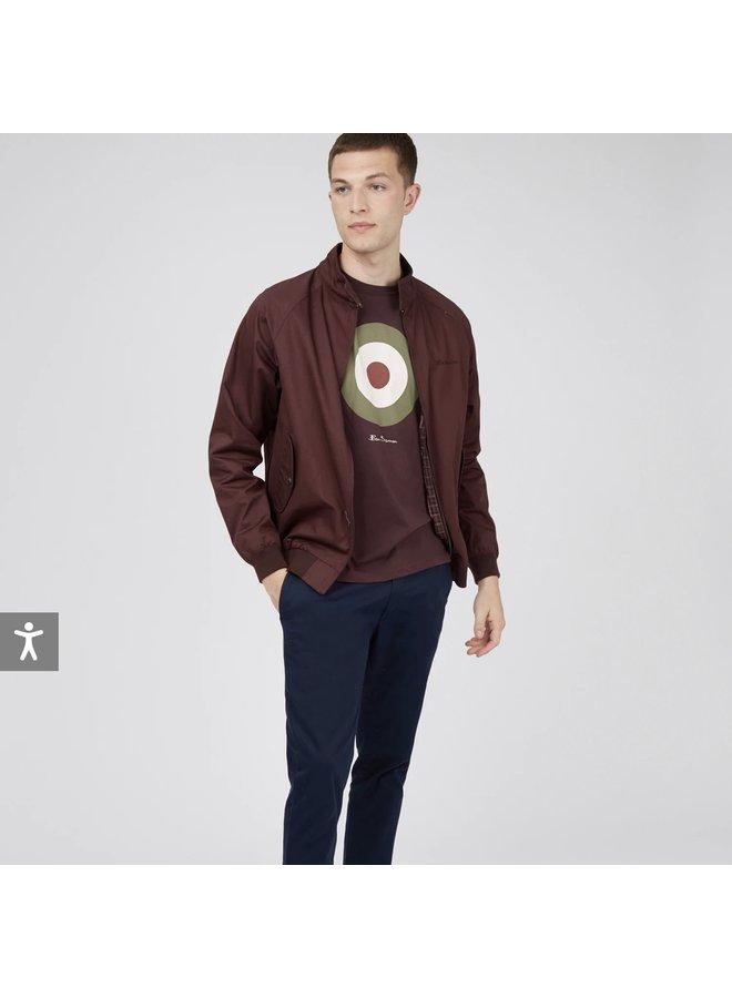 Target t-shirt / bordeaux