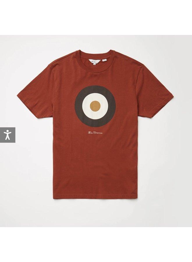 Target t-shirt - dark red