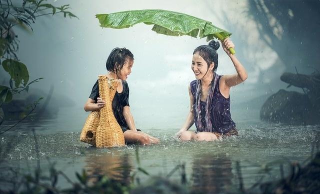 Is regen slecht voor je huid?