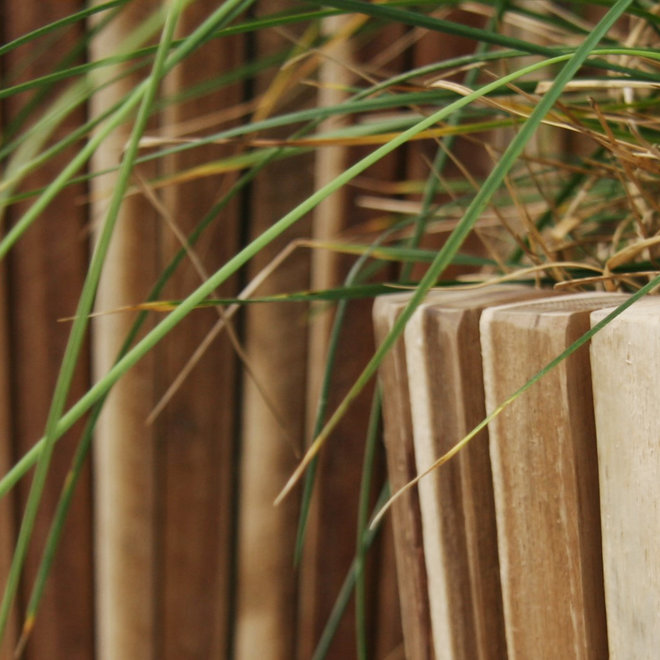"Pflanzkübel ""Marrone Acacia Vase"" Holz"
