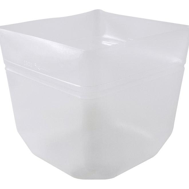 Flexibler Kunststoffeinsatz Quadratisch 32x32x30 cm - F1415