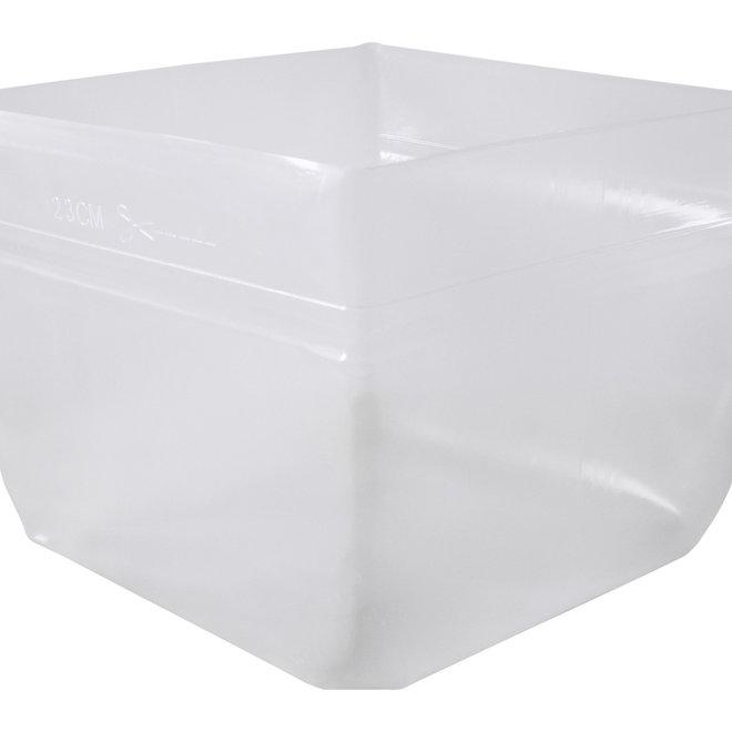 Flexibler Kunststoffeinsatz Quadratisch 38x38x30 cm - F1416