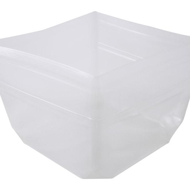 Flexibler Kunststoffeinsatz Quadratisch 48x48x35 cm - F1417