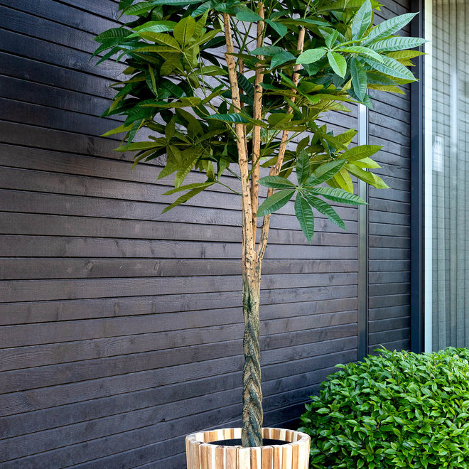 "Pflanzkübel ""Marrone Acacia Pot"" Holz"