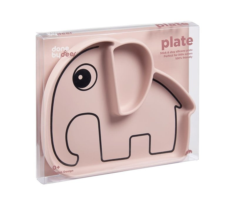 Silicone Stick & Stay plate, Elphee, powder