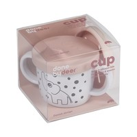 Silicone spout/snack cup, Elphee, powder