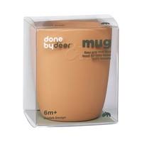 Silicone mini mug, mustard