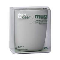 Silicone mini mug, grey