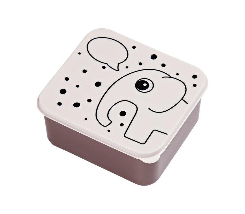 Lunch box, Elphee, powder