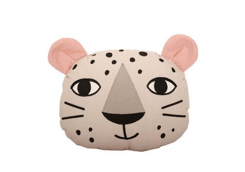 Roommate Leopard Cushion