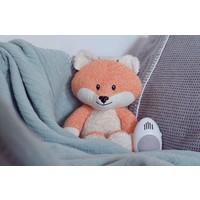 Robin de Vos (oranje) – Knuffel met hartslag