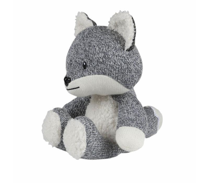 Robin de Vos (grijs) – Knuffel met hartslag