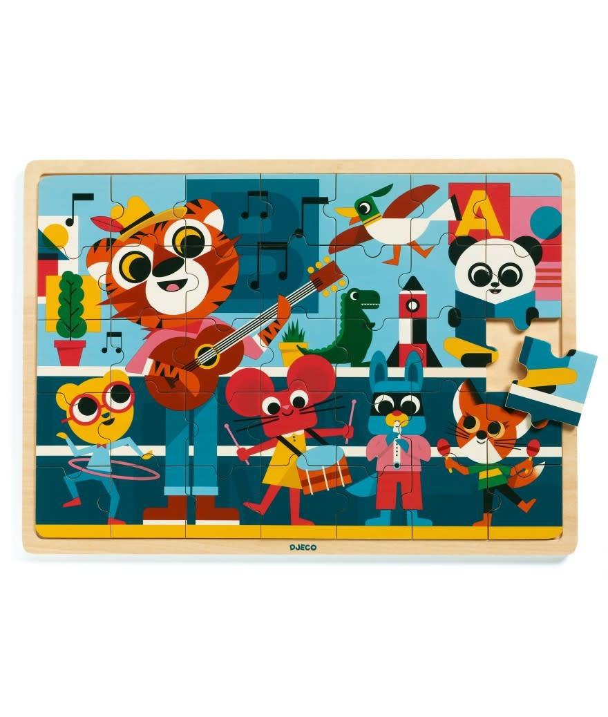 Djeco Puzzel - Muziek