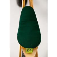 Houten loopfiets moto - groen