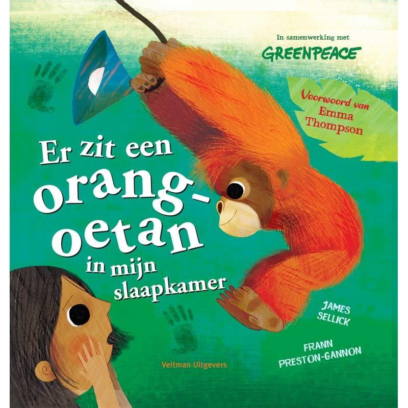 Veltman Uitgevers Er zit een orang-oetan in mijn slaapkamer
