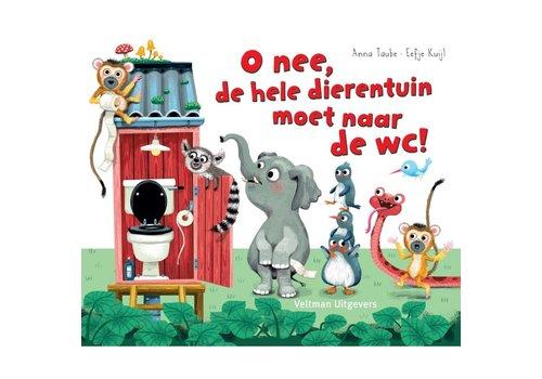 Veltman Uitgevers Oh nee, de hele dierentuin moet naar de wc