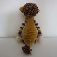 Leeuw gehaakt - 38 cm